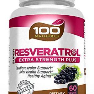 100-Naturals-Super-Resveratrol-1200mg-with-Pomegranategreen-Tea-Quercetin-Grape-Seed-Extract-Acai-Lactobacillus-Acidophilus-0
