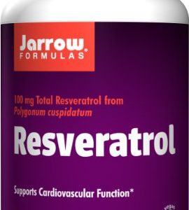 Jarrow-Formulas-Resveratrol-Supports-Cardiovascular-Function-100mg-60-Veggie-Caps-0