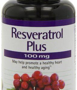 Natrol-Resveratrol-Plus-100mg-Tablets-30-Count-0