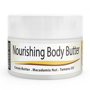 Cocoa-Butter-Cream-Organic-Body-Butter-Moisturizer-for-Dry-Skin-Use-on-Stretch-Marks-Scars-Rich-in-Natural-Oils-Plant-Extracts-Such-as-Macadamia-Nut-Oil-Tamanu-Oil-Aloe-4oz-0