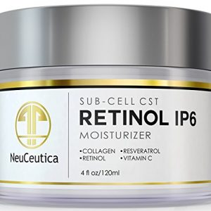 NeuCeutica-Retinol-Moisturizer-Cream-Anti-Wrinkle-for-Neck-Face-With-Collagen-Vitamin-C-Resveratrol-4-Ounce-0