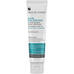 Paulas-Choice-SKIN-BALANCING-Ultra-Sheer-Daily-Defense-SPF-30-Oil-Free-Moisturizer-with-Antioxidants-for-Oily-Skin-2-oz-0