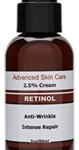 Retinol-Cream-Moisturizer-for-Face-25-Retinol-Hyaluronic-Acid-Resveratrol-Shea-Butter-Green-Tea-and-Vitamin-B5-and-E--Best-Night-and-Day-Moisturizing-Cream-2oz-0