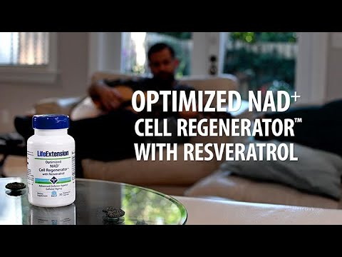 Optimized NAD+ Cell Regenerator™ with Resveratrol