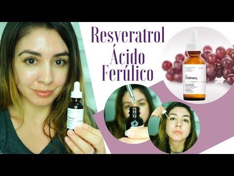 Uso na minha rotina noturna – Resveratrol+Ácido Ferúlico | The Ordinary