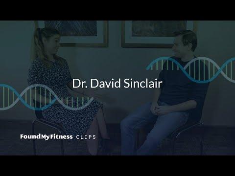 Resveratrol improves aortic stiffness (in rhesus monkeys)   David Sinclair