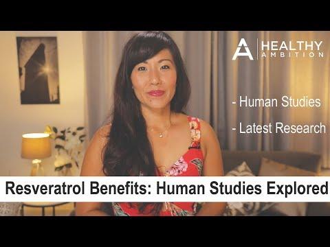 Resveratrol Benefits – Human Studies Reviewed
