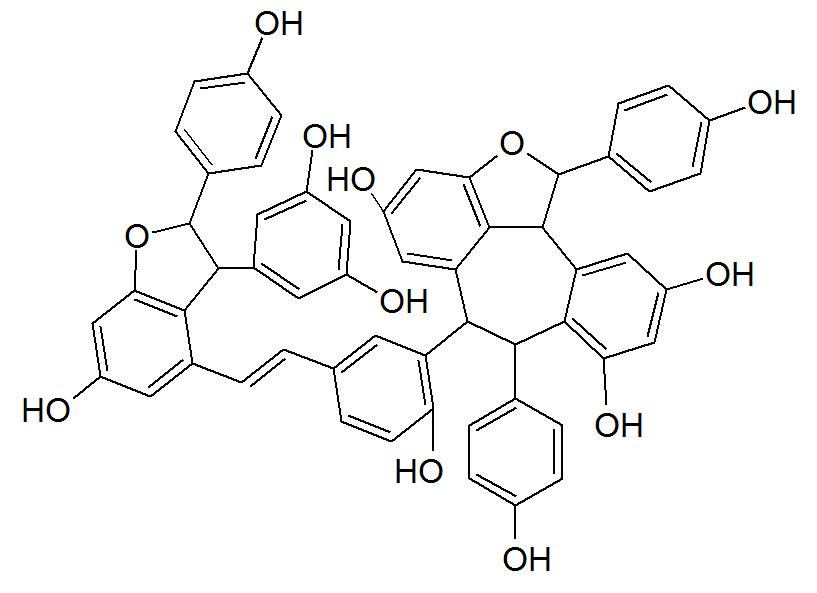 Vitisin A (stilbenoid)