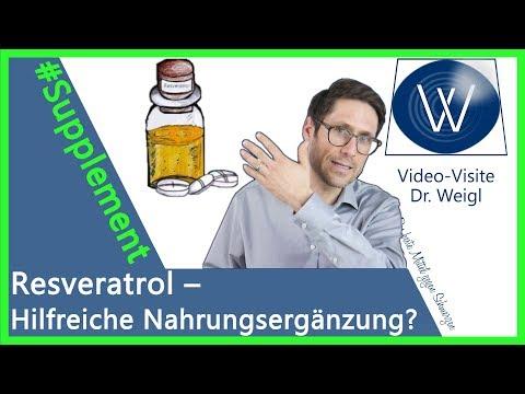 Resveratrol & natürlich Antioxidanzien wie OPC 🍇🍒 Können Sie dadurch länger leben & jünger aussehen?