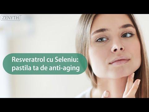 Resveratrol cu Seleniu: Pastila ta de anti-aging