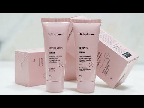 Retinol e Resveratrol os novos produtos da HIDRABENE! Qual escolher? #Skincare #Comigo #Hidrabene