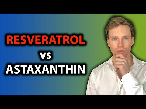 RESVERATROL vs ASTAXANTHIN | What Supplements Actually Work?