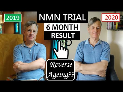 NMN Resveratrol Trial Six Months' Result | Reverse Aging??