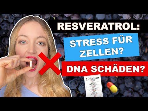 Schädigt Resveratrol unsere DNA? Neue Studie (2020) ist SEHR besorgniserregend! (Stress für Zellen?)