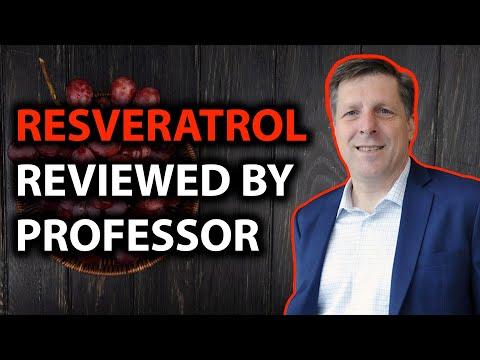 Resveratrol Review From PROFESSOR BRIAN KENNEDY