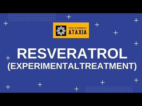 Resveratrol EXPERIMENTAL TREATMENT OF FA