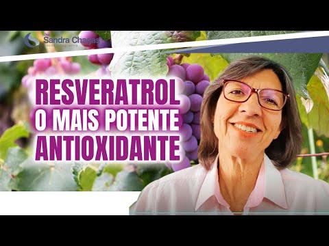 RESVERATROL O MAIS POTENTE ANTIOXIDANTE!